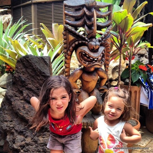 Havaí com crianças