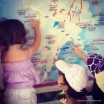 Porque nós viajamos com as nossas filhas?