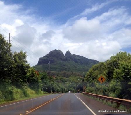Estradas em Kauai, Hawaii