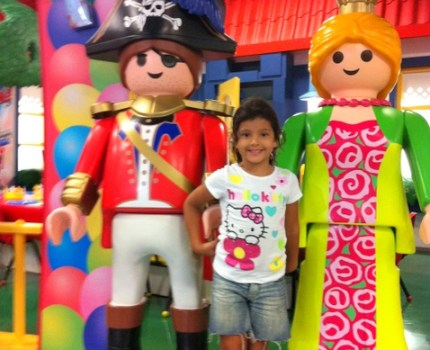 Playmobil FunPark em Palm Beach Gardens, Florida.