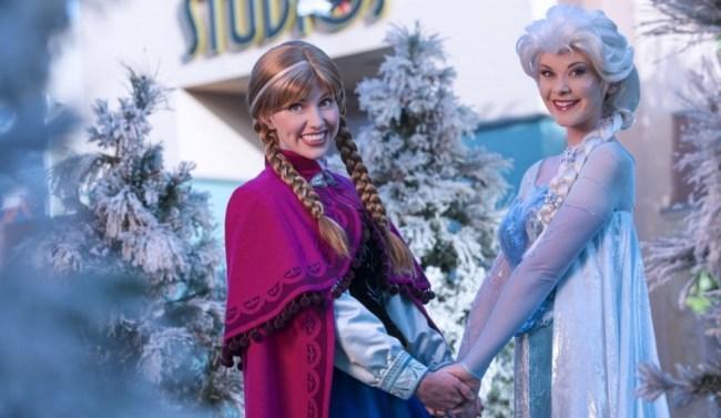 Frozen Hollywood Studios