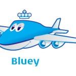 Conheça Bluey, a nova mascote da companhia aérea KLM