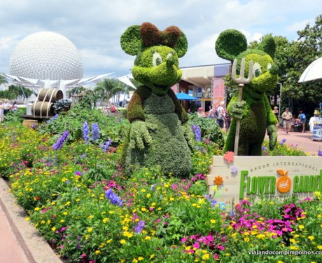Flower and Garden Festival no Epcot, Orlando.