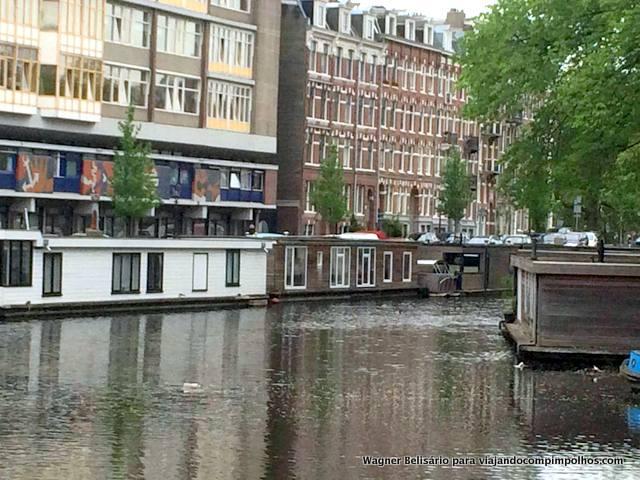 Houseboat Hugo Amsterdam