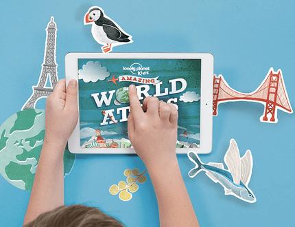 Lonely Planet Kids: para as crianças que gostam de explorar o Mundo