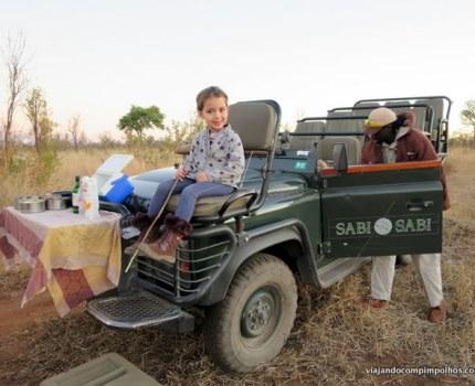 Safári com crianças na África do Sul: Sabi Sabi Private Game Reserve