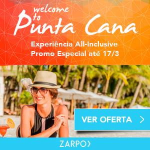 Zarpo faz promoção com Resorts all inclusive em Punta Cana