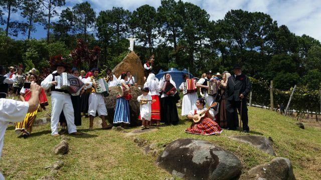 Grupo folclórico português animou a festa