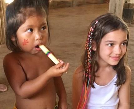 Manaus e Amazônia com crianças