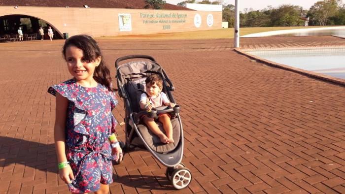 Foz do Iguaçu com bebês