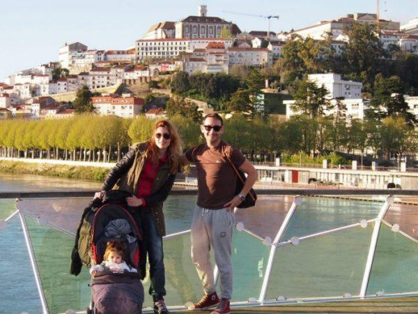 Norte de Portugal con bebé