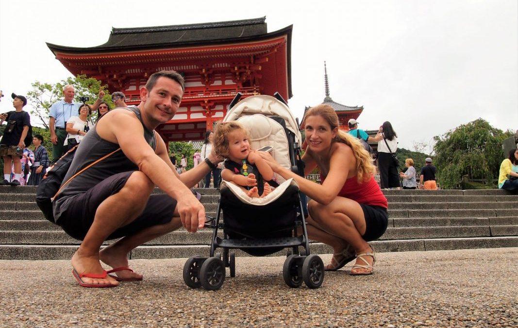 Kioto con bebé