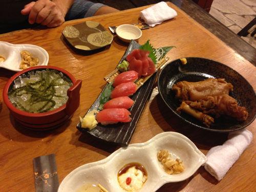 Comida local Okinawa
