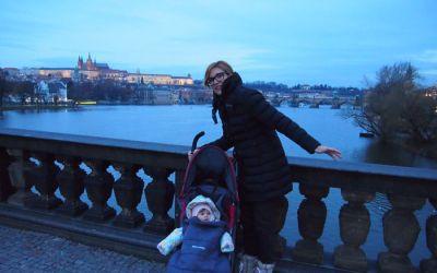 Un bebe en Praga