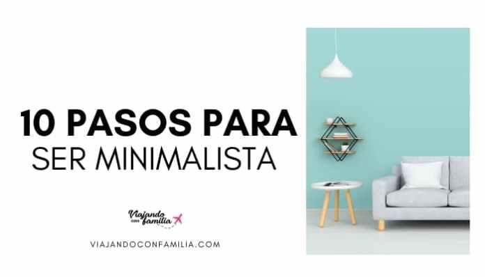 Guía para ser minimalista