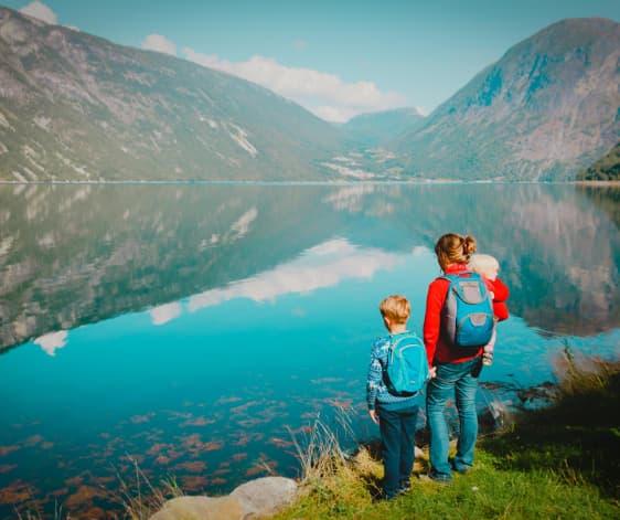 Viajar con familia y niños pequeños