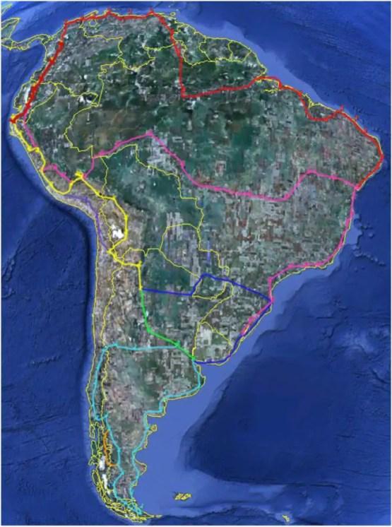 Sur-America-ruta