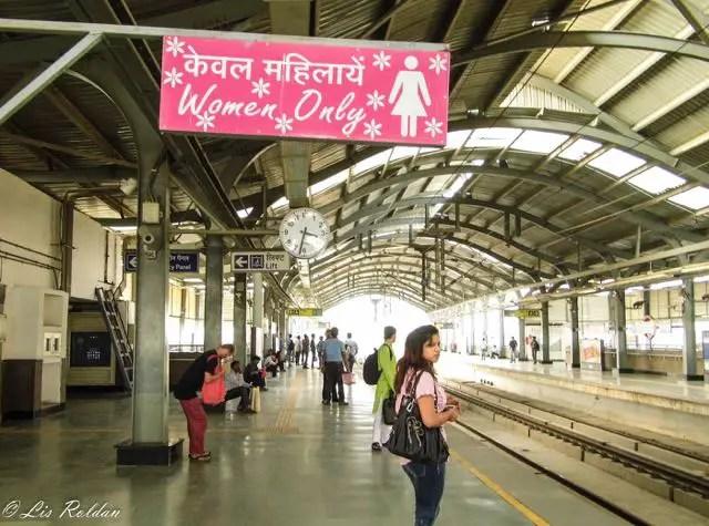 Metro, New Delhi, India