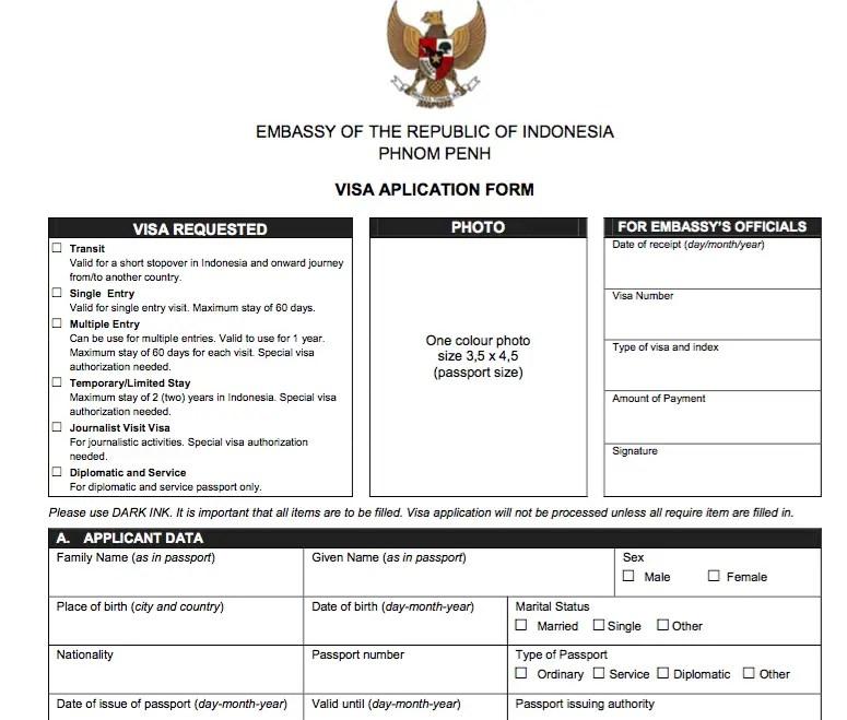 visa-indonesia