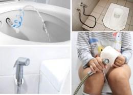 Países que no usan el papel higiénico