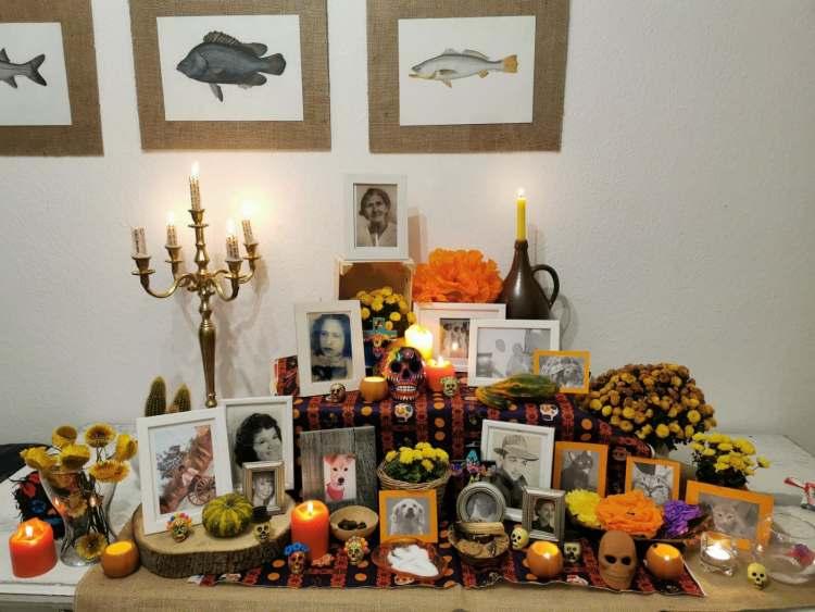 Altar de muertos en Alemania