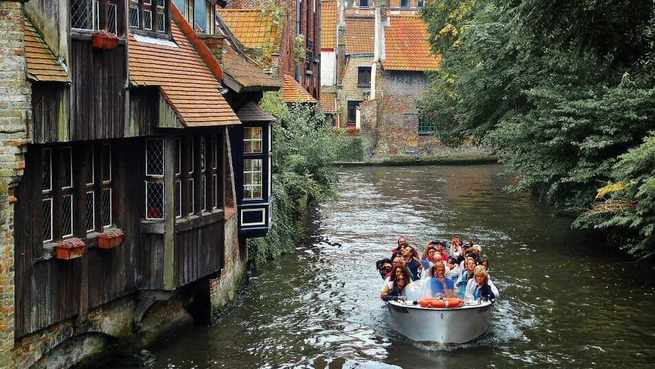 Canal de Brujas Bélgica