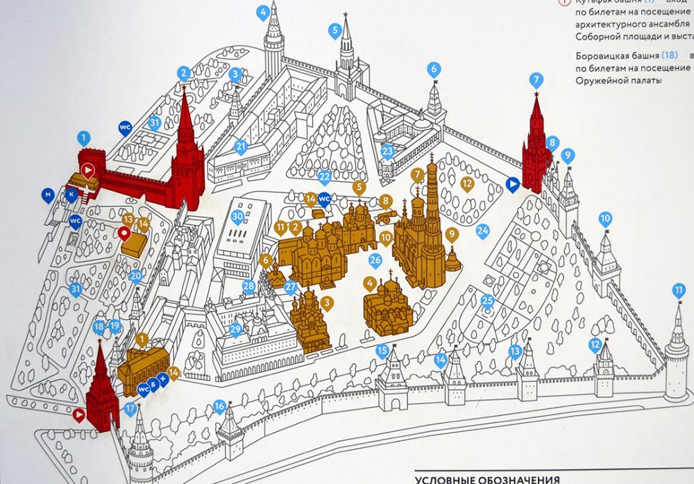 Mapa Kremlin