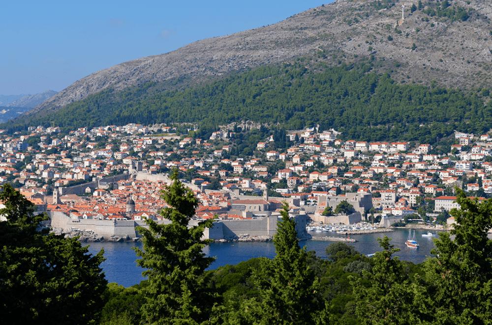 Dubrovnik desde Fort Royal
