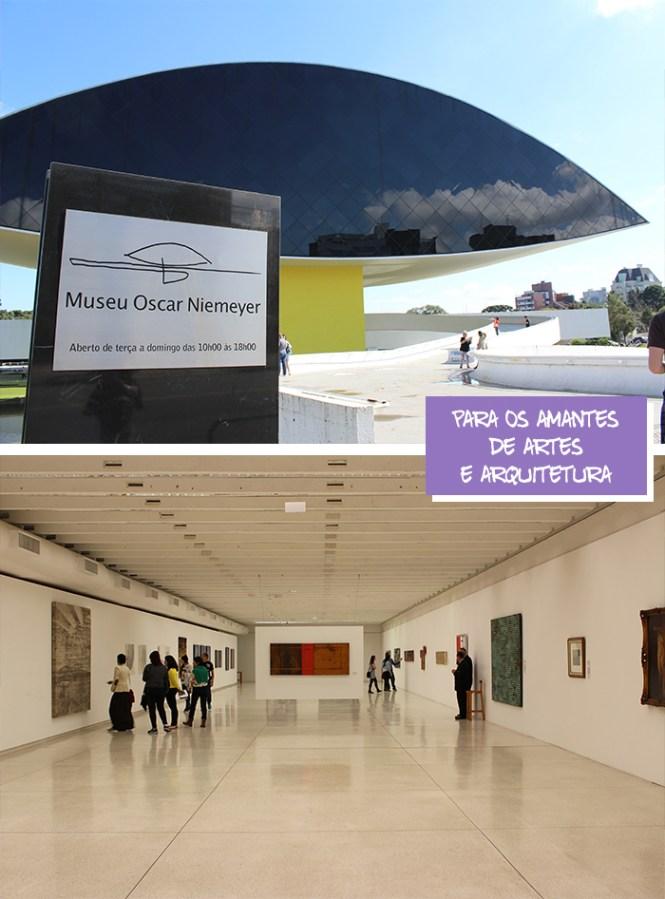 2 Viajando em 3.. 2.. 1.. - Curitiba em dois dias - Museu Oscar Niemeyer