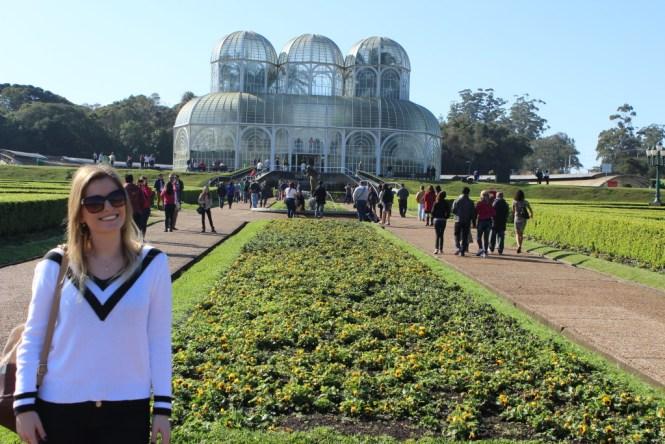 3.1 - Viajando em 3.. 2.. 1.. - Jardim Botânico curitiba - Paraná