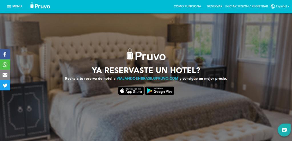 Plataforma Pruvo para ahorrar en hoteles y posadas