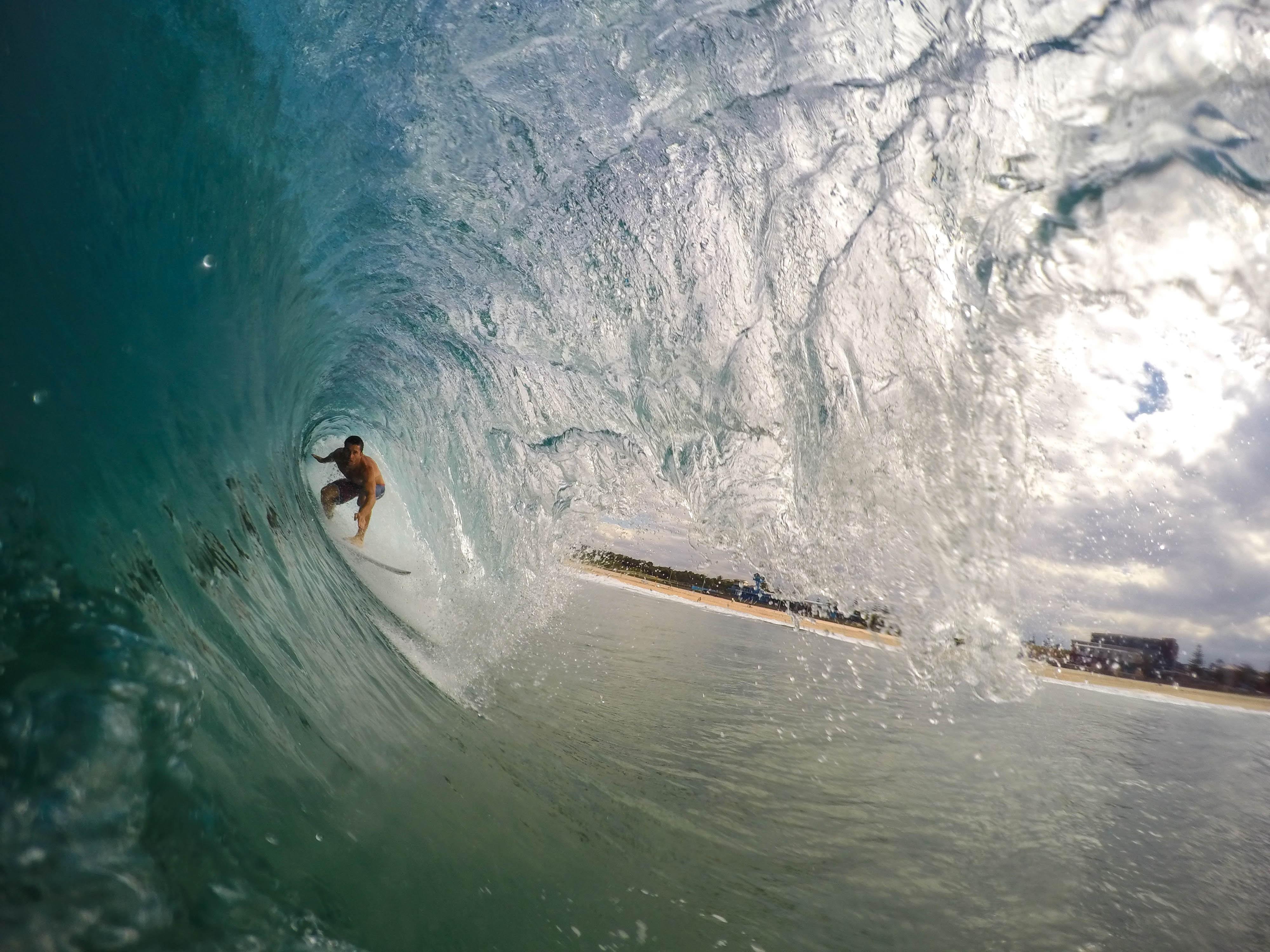 surfear en Brasil