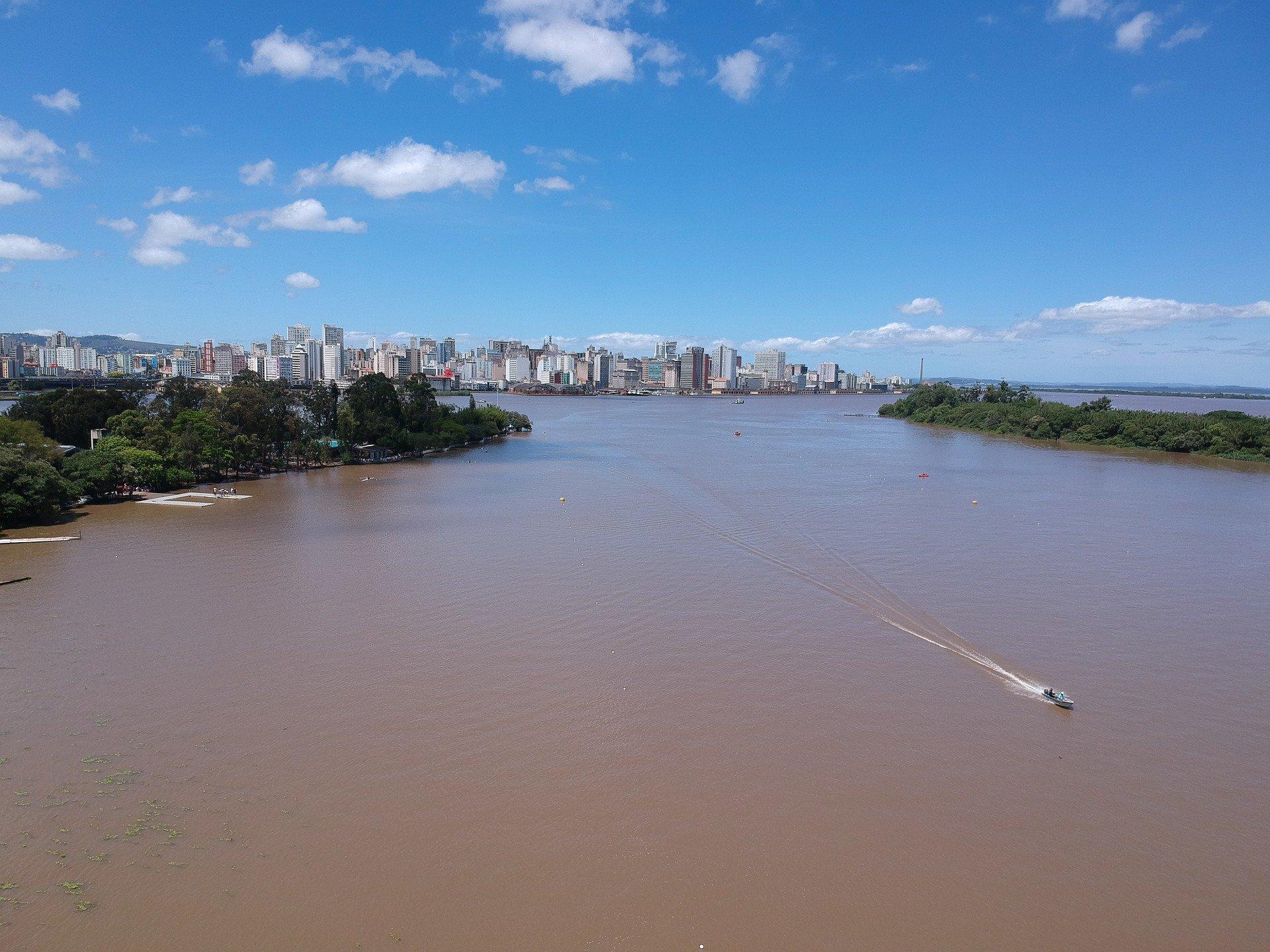¿Porto Alegre tiene playa?