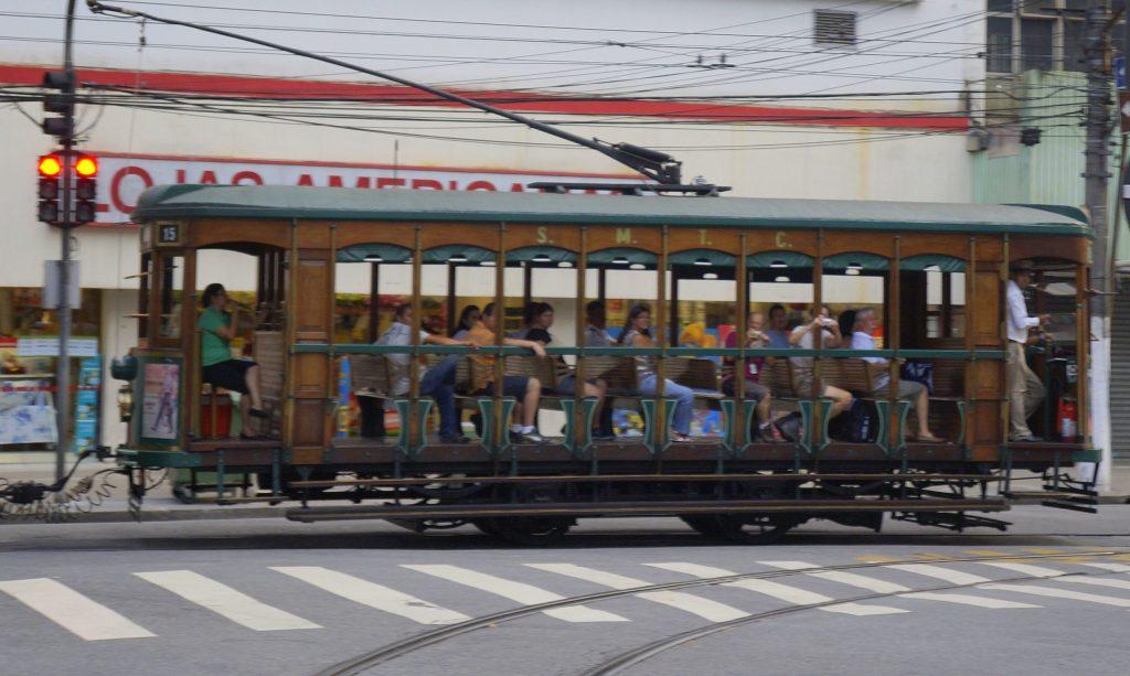 Tranvía de Santos, cerca de São Paulo