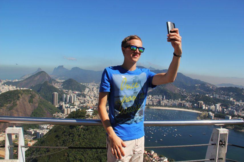 Turista en Río