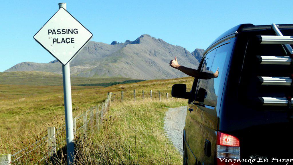 Viajando En Furgo en Escocia