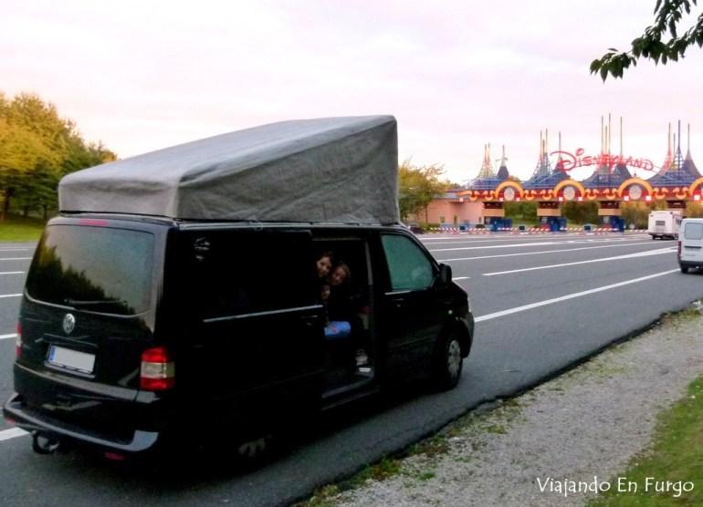 Eurodisney en camper