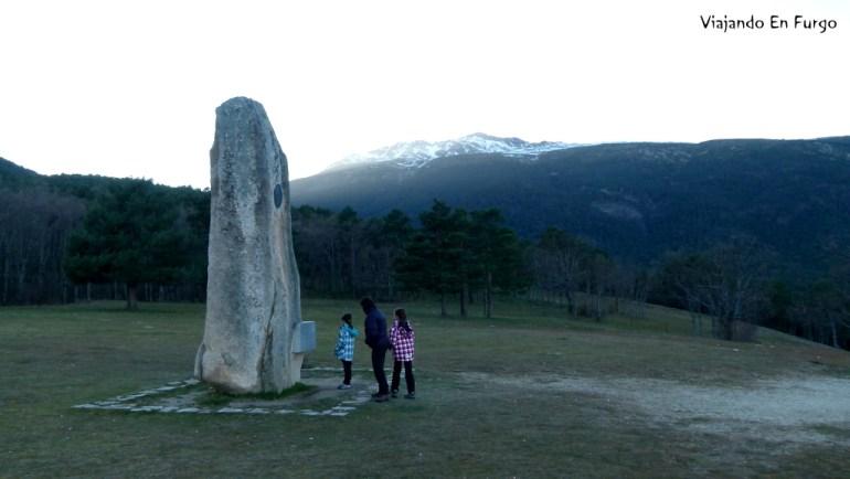 Monumento al Guarda Forestal - Sierra de Madrid