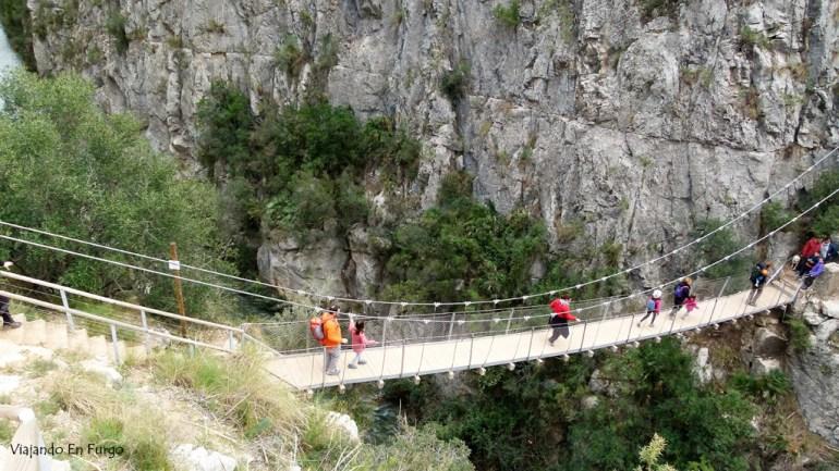 Puente colgante 1 Chulilla