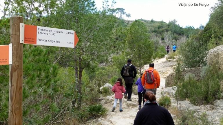 Ruta de los Pantaneros Chulilla