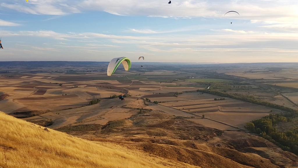 Volar en Parapente, La Muela, Guadalajara