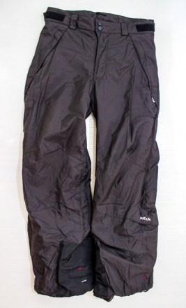 Calça de ski comprada na Decathlon