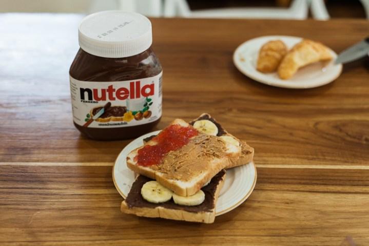 Não tem como resistir a Nutella!!!