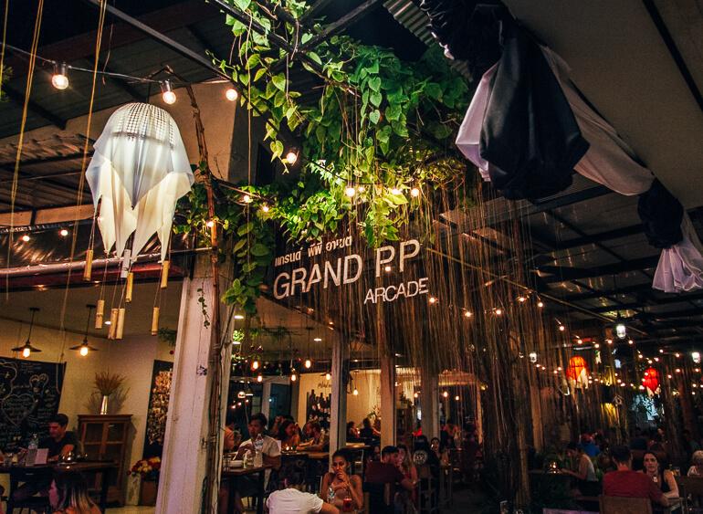 restaurante Grand P P Arcade