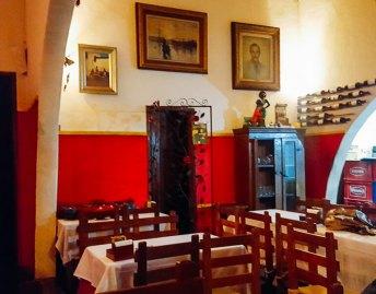 Decoração do Restaurante Atelier & Massas