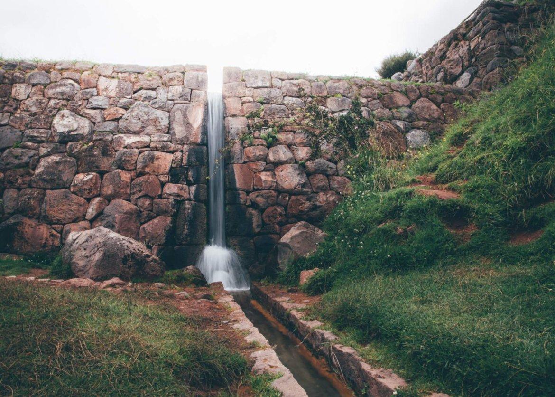 Canal de irrigação inca em Tipón   Roteiro em Cusco