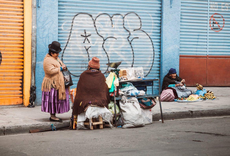 Cholas em La Paz