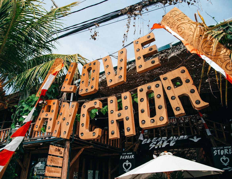 Canggu, Bali, Indonésia - Mercado Love Anchor, em Canggu