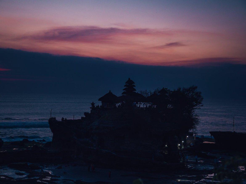 Canggu, Bali, Indonésia - Templo Tanah Lot