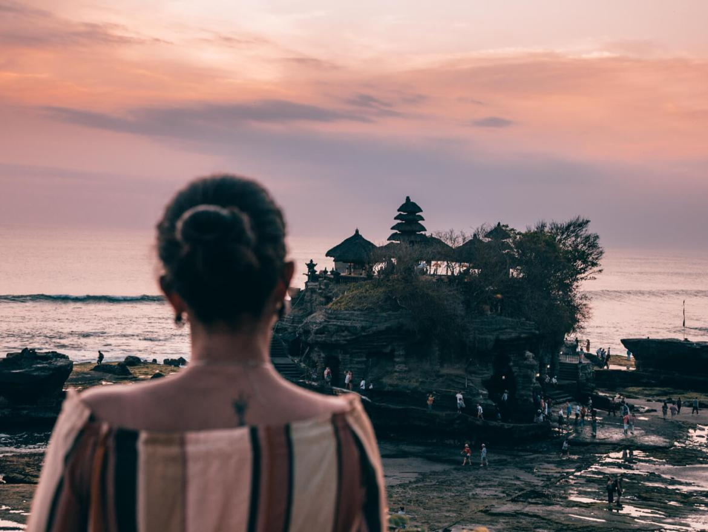 Onde ficar em Bali - templo Tanah Lot